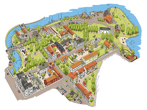 åmål karta Den gamla miljön   Åmåls kommun åmål karta
