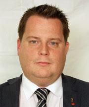 Kommunstyrelsens ordförande och Kommunalråd Michael Karlsson (s)